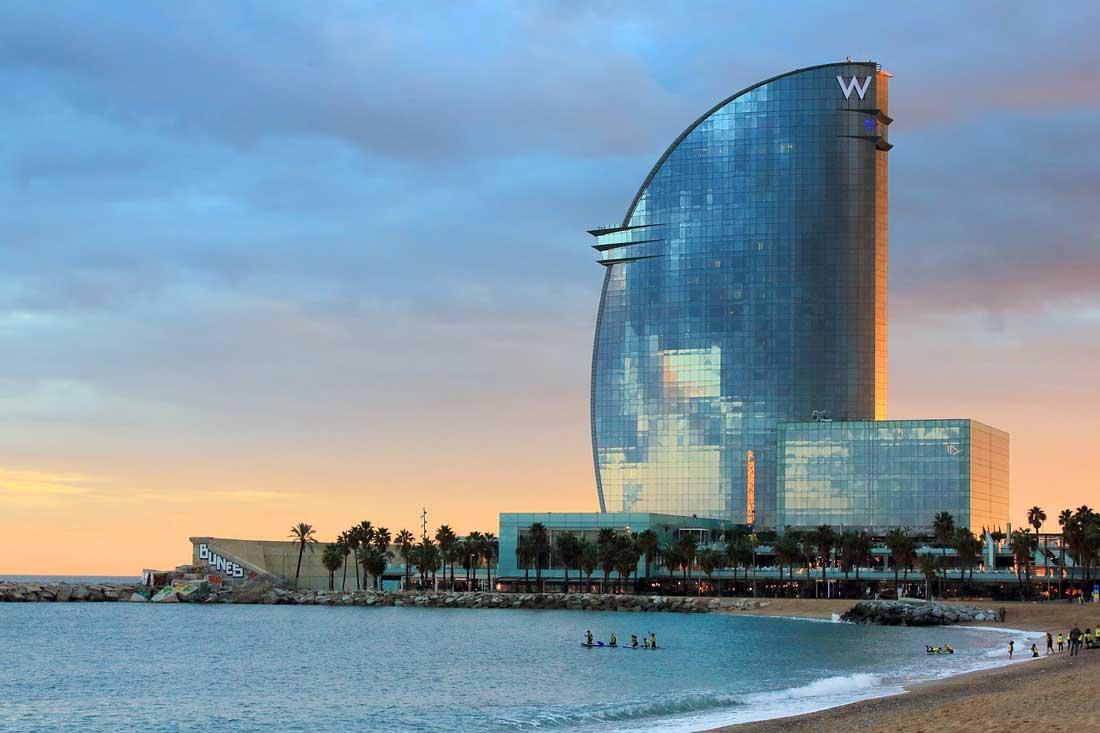 חוף הים של ברצלונה